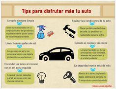 """""""Tips para disfrutar más de tu #auto"""""""