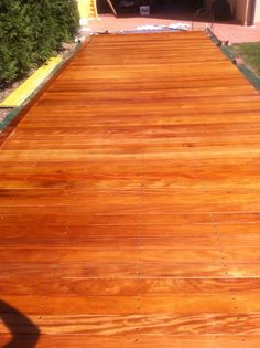 decking : pedana in essenza Garapa