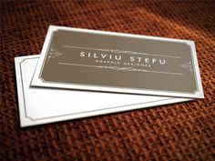 Business_card_mockup - http://dribbble.com/ #BusinessCards