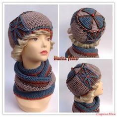 """Зима!.. Крестьянин, торжествуя, на дровнях обновляет путь; Нет, не так. Вяжем зимние головные уборы! Наряжаемся и идём гулять. Моя новая модель берета """"Цветы запоздалые"""". Dress Outfits, Fashion Dresses, Knitted Hats, Crochet Hats, Crochet Tablecloth, Crochet Patterns, Knitting, Handmade, Clothes"""