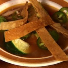 Mexican Tortilla Chicken Soup By Tyler Florence