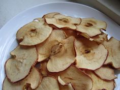 Baked Apple Chips Soza style