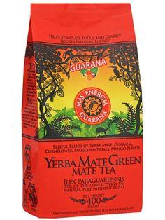 Oranżada YERBA MATE GREEN 400g Mas Energia Guarana