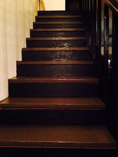 After the remodel of the stairs , looks better