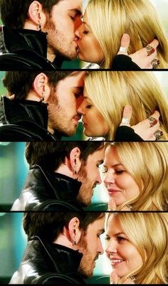 Yeah OK I'll admit it... Even us SwanFire shippers can see this kiss was good. LOL
