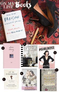 MadeByGirl: Books: On My List