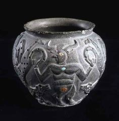 Horned Master of Beasts, Jiroft, c 2500 BC