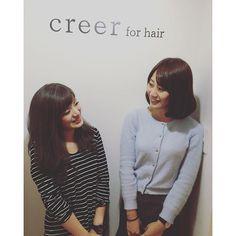 """""""本日のお客様 仕事帰りにカットカラートリートメントにご来店してくださいました!  いつもお世話になってますm(._.)m 本日はお疲れの中、ご来店ありがとうございました! またのお越しをスタッフ一同心よりお待ちしております。 #美容室 #creer_for_hair#鹿児島市#鴨池"""" Photo taken by @creer_for_hair on Instagram, pinned via the InstaPin iOS App! http://www.instapinapp.com (10/23/2015)"""