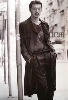 Takeshi Kaneshiro, Armani