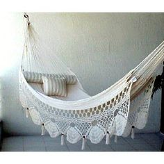 Crocheted Couples Hammock - $169