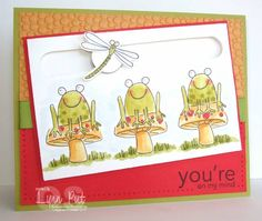 SC222 - You're on my Mind Spinner Card by justbehappy - Cards and Paper Crafts at Splitcoaststampers