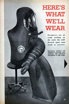 Looks comfortable . . .   By Retronaut Curated by Amanda Uren