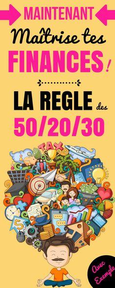 FAIRE SON BUDGET : LA RÈGLES DES 50/20/30 EN ACTION !