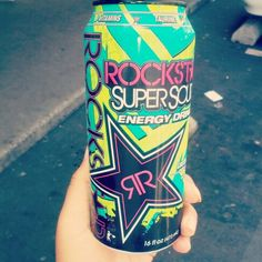 Rock star Energy Drink <3