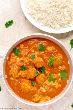 Quick Indian Chicken Curry recipe | EverydayEasyEats.com