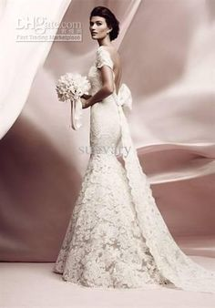 Wholesale 2012 New Style Best Wedding Dresses Mermaid Sweetheart Backless White Lace003, Free shipping, $266.94-279.99/Piece | DHgate