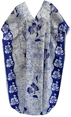 Womens Long Casual Dress Caftan MAXI Dress Batik Blue HIBISCUS 1 US 14 Spring Summer 2017 ** To view further for this item, visit the image link. (This is an affiliate link) Maternity Swimwear, Maternity Wear, Blue Hibiscus, Fashion Lingerie, Batik Dress, Nightgowns, Image Link, Floral Prints, Lounge