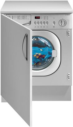 Integrated Washers & Dryers Save Much Needed Space