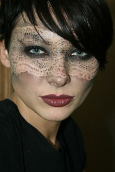 Image Detail for - Avant Garde looks from the Beauty Make-up Artistry Course at the NY ...