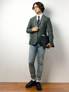 ▼staff spec   身長:171cm、体重:63kg   肩幅:42cm、胸囲:90cm 、