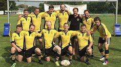 Rugby Series am Ausportplatz in Krems Rugby, Football