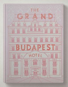 The Gran Budapest Hotel Beautiful Cover Book