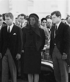 Jackie Kennedy wore Valentino almost exclusively, including to the 1963 funeral of her husband John F Kennedy