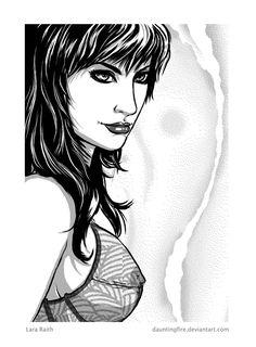 Lara Raith, The Dresden Files by dauntingfire.deviantart.com on @deviantART