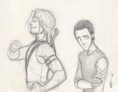 Young Thor and Loki by CaptBexx.deviantart.com on @DeviantArt