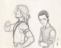 Young Thor and Loki by CaptBexx on DeviantArt