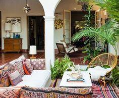 dream home - internal courtyard