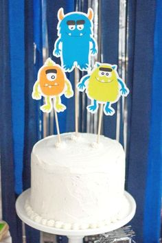 printsforevents's Birthday / Monsters - Photo Gallery at Catch My Party Monster Birthday Parties, Monster Party, Birthday Party Themes, Birthday Cake, Bridal Shower Cakes, Baby Shower Cakes, Rustic Cake, Holiday Cakes, Gorgeous Cakes