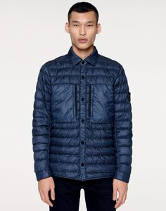 ab24fb078e Q0724 GARMENT DYED DOWN 26GR X SQM NY Down Jacket Stone Island Men -  Official Online Store