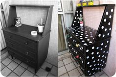 Casa de Colorir: antes e depois