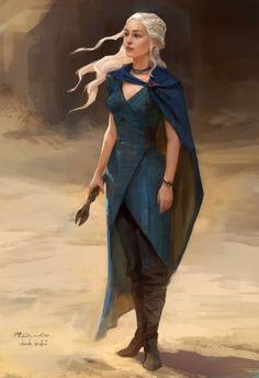 Concept art for Jon Snow and Daenerys Targaryen (x) -- Telltale's Game of Thrones Game Winter Is Here, Winter Is Coming, Daenerys Targaryen Art, Khaleesi, Arte Game Of Thrones, Art Magique, Jon Snow And Daenerys, Game Of Thones, My Champion