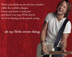 Sweet Thing - Keith Urban