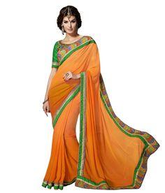 https://flic.kr/p/quWX6v | G-Fashion-Orange-Faux-Georgette-SDL108045009-1-7c7bb | DESCRIPTION OF G FASHION ORANGE FAUX GEORGETTE EMBROIDERED SAREE WITH BLOUSE PIECE Saree color: Orange, Blouse Color: Green, Saree Fabric: Georgette Blouse Fabric: Art Silk, Work: Zari, Resham Embroidery, Lace REVIEWS & RATINGS | QUESTIONS & ANSWERS FOR G FASHION ORANGE FAUX GEORGETTE EMBROIDERED SAREE WITH BLOUSE PIECE