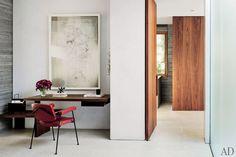 Home Decor Ideas - Wall-Mounted Desks Photos | Architectural Digest
