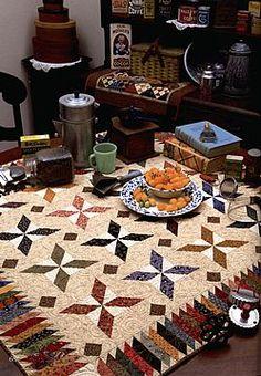 quilt - calico kaleidoscope - kim diehl