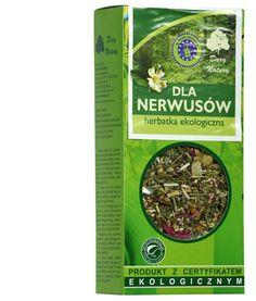 Herbata sypana, w 100% naturalna, polecana przy nerwicach, stanach niepokoju i bezsenności.