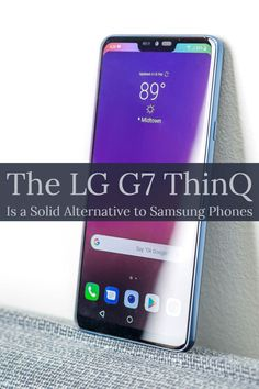 The ThinQ hits the latest phone trends and includes signature LG features like a wide-angle camera and audiophile-quality sound for a solid alternative to flagships from Apple and Samsung. Cell Phone Deals, Cell Phone Reviews, Free Cell Phone, Best Cell Phone, Lg Phone, Cell Phone Holder, Phone Logo, Latest Phones, Newest Cell Phones