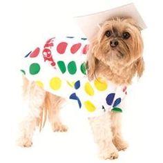 Dog Twister Game Pet Halloween Costume Size Medium