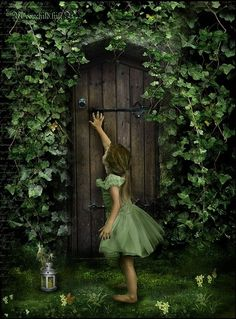 There is a whole world out there if you just open the door.