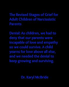 On pinterest narcissistic mother stages of grief and adult children