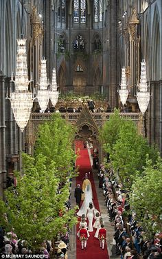 William and Kate Processional