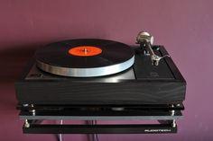 "Linn LP12 & Audiotech wall shelf & Naim ""fraimed"""