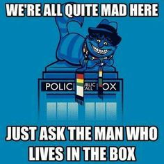 Doctor Who -: We're all quite mad here