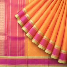 Kanakavalli Handwoven Kanjivaram Silk Sari 1014749 - Sari / Kanjivarams…