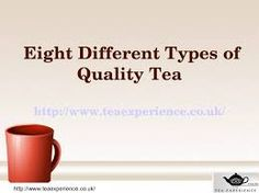 there is quality in tea