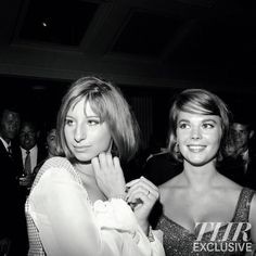 Young Barbra Streisand, and teenage Natalie Wood.  Hit the town in newly discovered photos